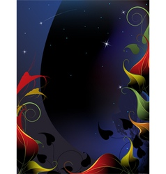Fairy night vector