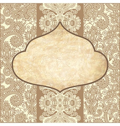 Grunge vintage template vector
