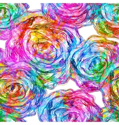 Seamless roses pattern  eps 10 vector