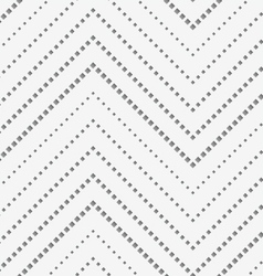 Perforated paper with vertical zigzag textured vector