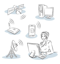 Wireless and communication vector