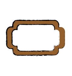 Frame emblem decoration vector