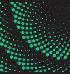 geometric flower background dot ornament vector image vector image