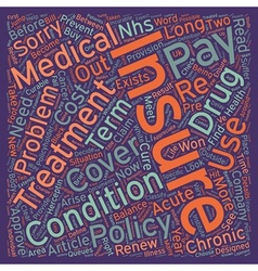 Medical insurance sorry you re not covered text vector