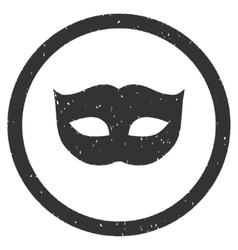Privacy Mask Icon Rubber Stamp vector image vector image