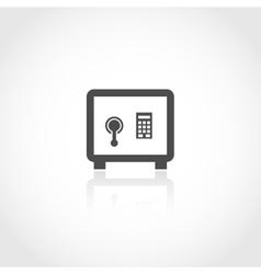 Safe deposit icon vector image vector image