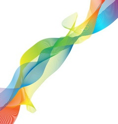 Colorful imagination design on white background vector