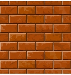 Background of brick wall texture vector