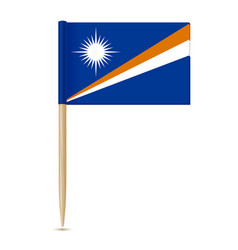 flag of the marshall islands swedish flag vector image vector image