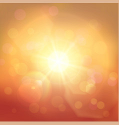 Golden and red abstract background vector