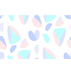 seamless triangle scandinavian pattern textile vector image vector image