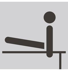 2273 gymnastics artistic icon vector