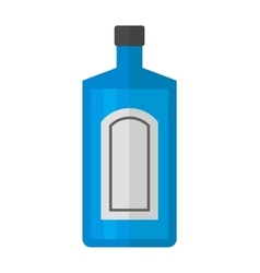Tequila bottle vector