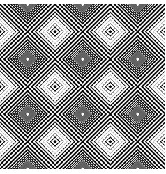 Black and white geometric texture seamless vector