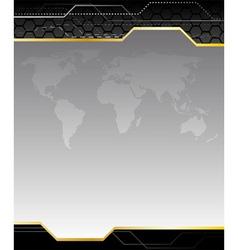 Hightech background vector