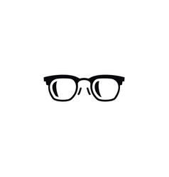 isolated frame icon sunglasses element can vector image vector image