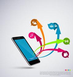 Mobile application vector