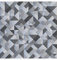 Monochrome geometric background vector image vector image