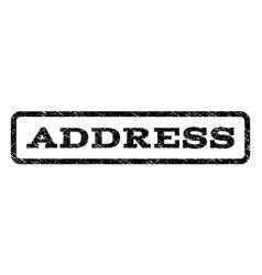 Address watermark stamp vector