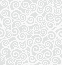 Background with curlicues vector