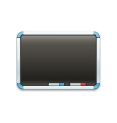 Black office blackboard for vector