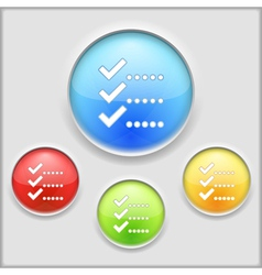 Check List Icon vector image vector image