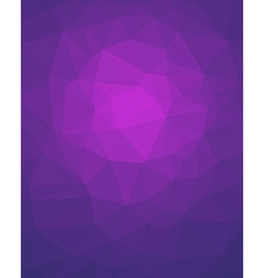 Violet Poligon Vertical Background vector image vector image
