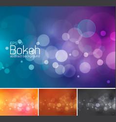 Blur and bokeh 1 vector