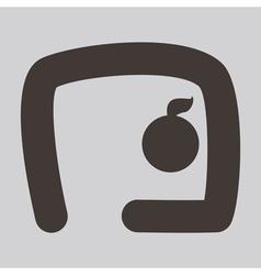 2274 Gymnastics Rhythmic icon vector image