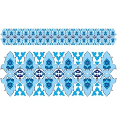 Ottoman motifs design series with forty three vector image