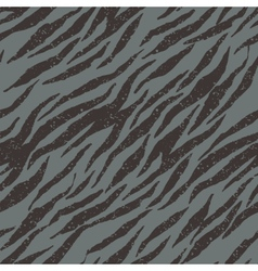Zebra tiger stripes seamless grunge pattern in vector