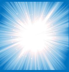 Magic starburst vector