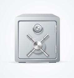 Security Metal Safe vector image vector image