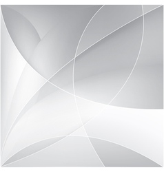 Abstract silver background vector