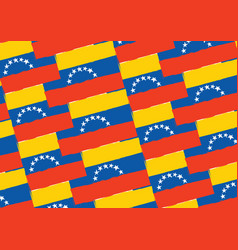 abstract venezuela flag or banner vector image vector image
