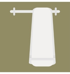 Clean towel vector