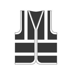 Jacket icon industrial security design vector
