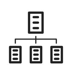 Organizations Network vector image vector image