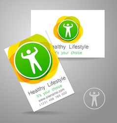 Sport fitness logo vector