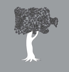Unique tree vector