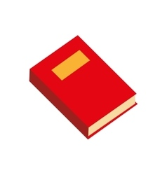 Book single read education graphic icon vector