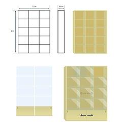 furniture design vector image