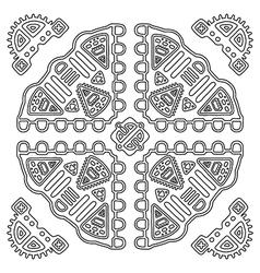 Tribal ethnic ornament vector image