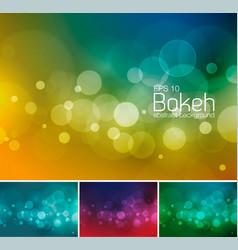 Blur and bokeh duotone 1 vector