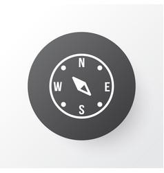 compass icon symbol premium quality isolated vector image