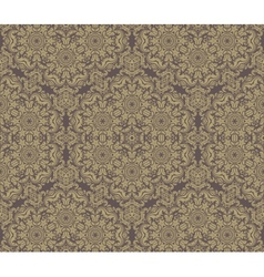 Pattern in the style of baroque abstract golden vector