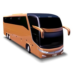 Long-distance bus vector