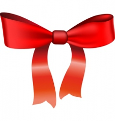bow vector image vector image