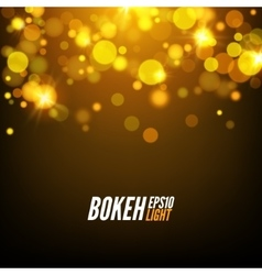 Festive Colorful bokeh background lights Abstract vector image vector image