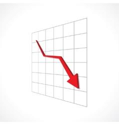 financial crisis vector image